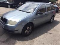 Skoda fabia 1.9 Sdi estate 2002 spares breaking diesel