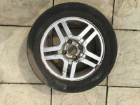 195/60 R15 Tyre & Wheel