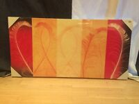Flame Feathers II Canvas