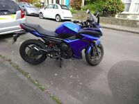 Yamaha xj6 diversion f with abs 2010, new rear tyre and rear pads, 11 months MOT