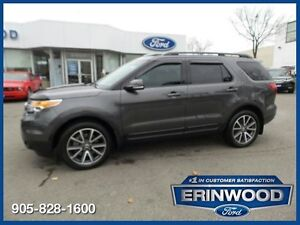 2015 Ford Explorer XLT - ONE OWNER CPO 24M@1.9%/12MO/20,000KM EX
