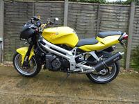 1000 cc Aprilia, Street Fighter style motorbike, 2001, Y reg, MOT Feb 2017, £1495