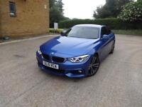 BMW 4 Series 430d M Sport[Professional Media] (blue) 2015