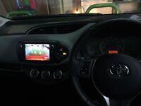 Beautiful red 2016 Toyota Yaris Icon vvt-i
