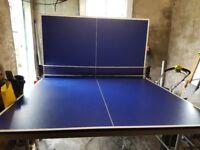 Full size Artengo 730 indoor folding table tennis table.