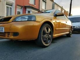 Vauxhall astra bertone 1.8cc mot december 98k