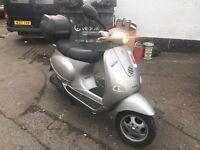 PIAGGIO VESPA ET4 silver 125cc low mileage hpi clear!!