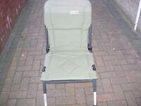 zebco fishing chair adjustable legs.