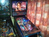 Dirty Harry Pinball Machine - In Excellent Condition and Fully Refurbished, Led's fitted