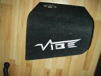 GENUINE CAR SPEAKER BASS BOX VIBE SLR BASS BOX SUB WOOFER