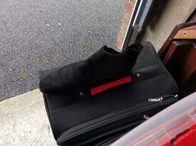 men's suede base london black chelsea boots size 46