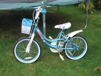 "Girl's 16"" Bike - Spike model, good condition, RRP £149 currently in Argos, Bargain £25"