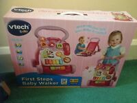 Vtech pink Baby Walker brand new, never been taken out of box.