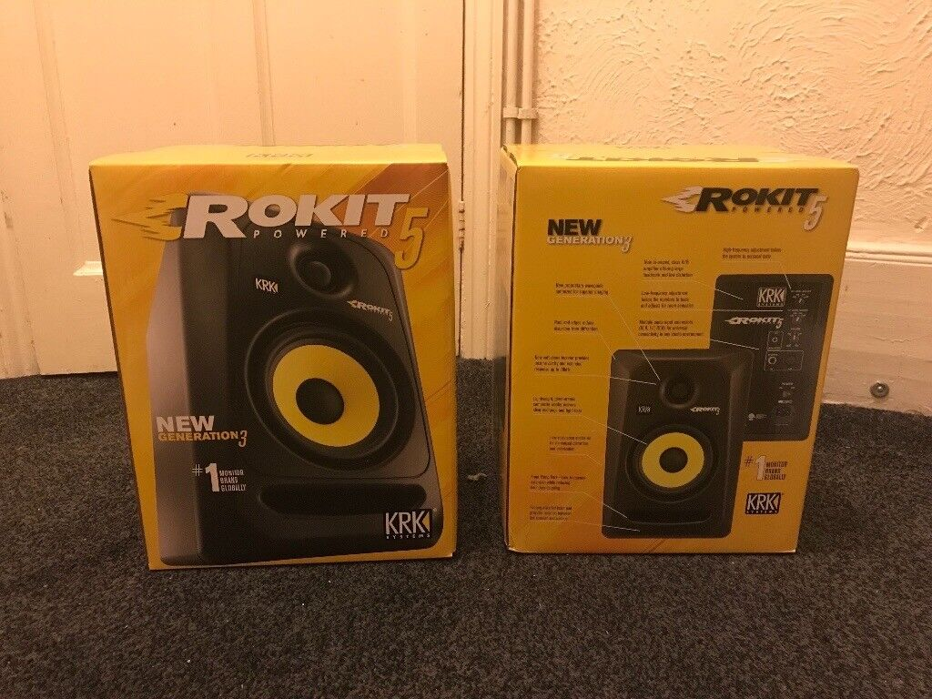 KRK Rokit RP5 G3 (Brand New Pair)