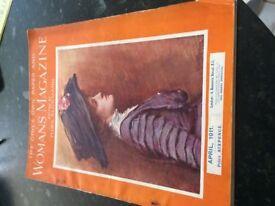 WOMANS MAGAZINE 1911