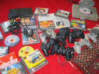 Playstation Job Lot PS1, PS2, Games, Controllers, Eye Toy and Memory Cards