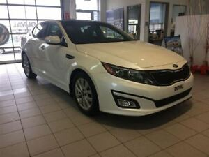 2015 Kia Optima CUIR, TOIT, NAVI,   WOW...EX Luxury w/Navi