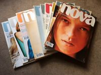 Nova magazines in acrylic magazine file