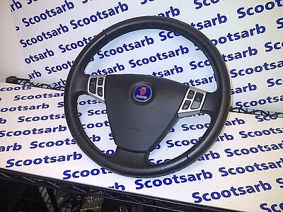 SAAB 9-3 93 Steering Wheel with SRS Sport Leather model 2003 - 2010 12796743