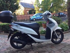 2012 HONDA NSC 110 VISION VERY CLEAN LOW MILAGE SCOOTER ,LONG MOT ,FINANCE ETC £1099