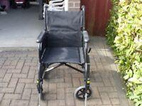 Karma Sparrow Attendant Wheelchair