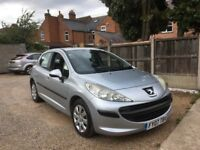 Peugeot 207 1.6 HDi S 5dr, £30 ROAD TAX, DRIVES VERY WELL, TWO SETS OF KEYS, VERY ECONOMICAL ENGINE
