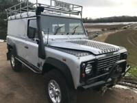 Land Rover 110 td5 hard top heavy duty chassis