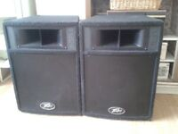 PEAVEY ST-12 SPEAKERS FOR PROFESSIONAL USE - BARGAIN AT ONLY £140