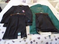 BRAND NEW Marks & Spencer Men's Suit with Two Pairs Trousers - still with labels and suit bag for sale  Marlborough, Wiltshire