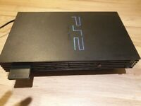 Sony PS2 Console only with 4 games