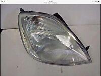 Ford Fiesta headlight mk6 2005 - 2008