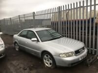 Audi A4 2.5tdi year 2000 Diesel Breaking spare parts available