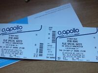 2 SEAT TICKETS FOR RYAN ADAMS, MANCHESTER 14/9/2017