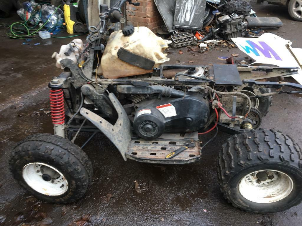 polaris 250 2 stroke quad spares or repairs