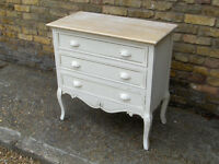 Chest of Drawers Look Vintage / Retro / shabby chic (3 draws) #FREE LOCAL DELIVERY#