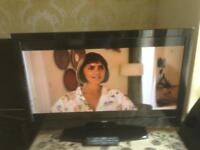 40 INCH ISIS LCD TV HD READY FREEVIEW MODEL 15140913TVB1080PV WITH REMOTE CONTROL £85
