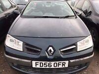 Renault Megane 1.5 DCI Convertible 2007 model 2dr 12 months mot only £899