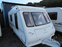 Compass Magnum Classic 524L 4 Berth End Bathroom 2006
