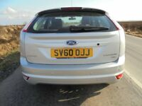 2010 (60) Ford Focus Titanium 1.6 TDCi. £30 Tax. Silver