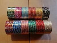 wholesale joblot 1440 bangles indian costume jewellery cochella festival diwali eid car boot sale