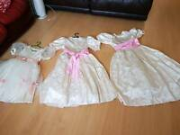 3 little bride dresses