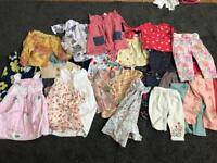 Bundle of baby girls clothes 6-12 Months
