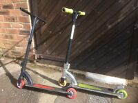 TWO MGP Scooters (£30 each or £50 for both)