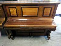 Lovely Dark Oak 'Steinberg' Upright Console Piano - CAN DELIVER