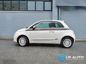 2013 Fiat 500 Lounge Gucci Edition! Only 11000kms!