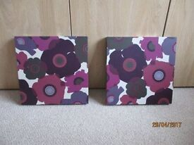 For Sale: Floral Wall Pictures