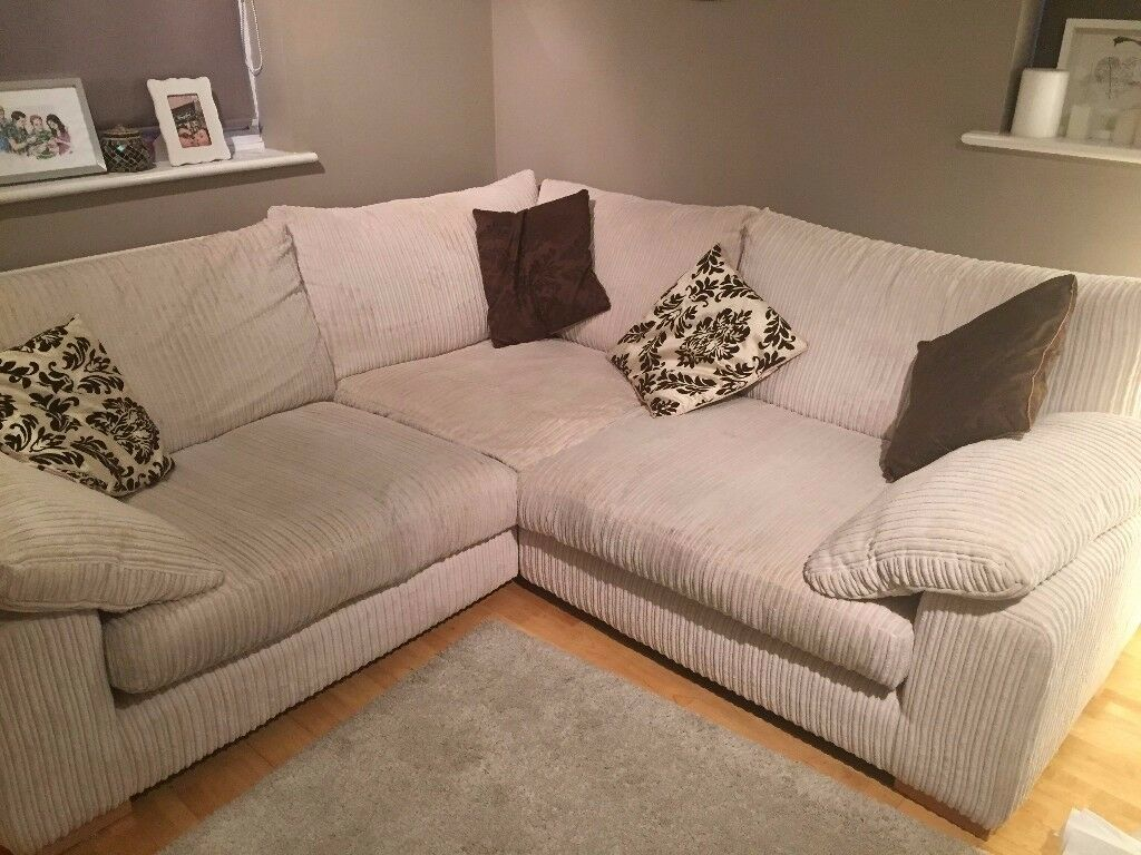 Beautiful sofa and cuddle chair -Sofology £700/£300 separately
