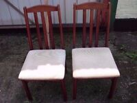 Two Dining Chairs Delivery Available