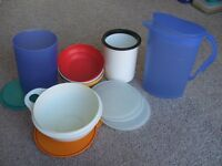 MISCELLANEOUS TUPPERWARE ITEMS