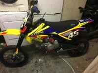 Stomp 140cc racing tuned spares or repair